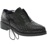 Schuhe Damen Derby-Schuhe Albano - Francesina grigio 100% pelle gomma 2735 Multicolore
