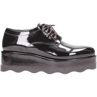 Schuhe Damen Derby-Schuhe Albano - Stringate nero 7066 Multicolore