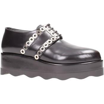 Schuhe Damen Derby-Schuhe Albano - Stringate nero 7065 Multicolore