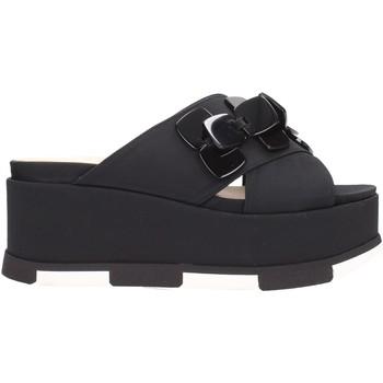 Schuhe Damen Pantoffel Jeannot - Ciabatta nero 35217 Multicolore