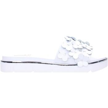 Schuhe Damen Pantoletten Jeannot - Ciabatta white 37123 Multicolore