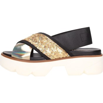 Schuhe Damen Sandalen / Sandaletten Jeannot - acciaio grigio 39068 Multicolore
