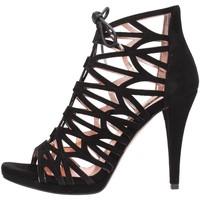 Schuhe Damen Sandalen / Sandaletten Albano - nero 1157 Multicolore