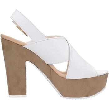 David Haron P09TC Multicolore - Schuhe Sandalen / Sandaletten Damen 8000