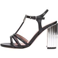 Schuhe Damen Sandalen / Sandaletten Albano - nero 2588 Multicolore
