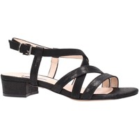 Schuhe Damen Sandalen / Sandaletten L'amour - Sandalo nero 129 Multicolore