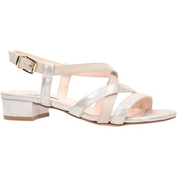 Schuhe Damen Sandalen / Sandaletten L'amour - Sandalo beige 129 Multicolore