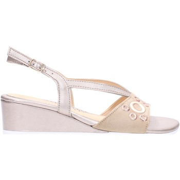 Schuhe Damen Sandalen / Sandaletten Melluso - Sandalo beige K95043 Multicolore