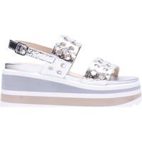 Schuhe Damen Sandalen / Sandaletten Jeannot - Sandalo argento 31095 Multicolore