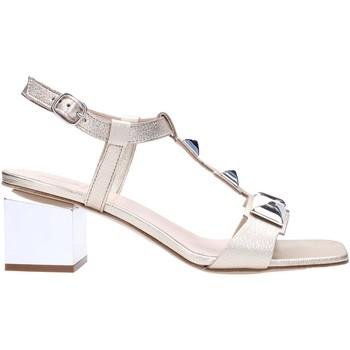 Schuhe Damen Sandalen / Sandaletten Jeannot - Sandalo platino 55043 Multicolore