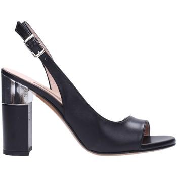 Schuhe Damen Sandalen / Sandaletten Albano - Sandalo nero 2121 Multicolore