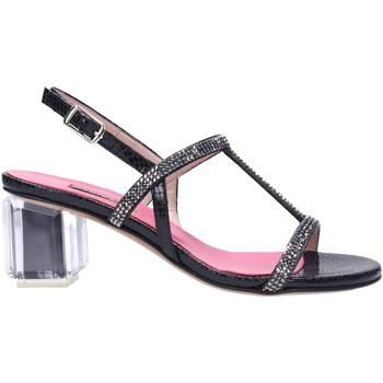 Schuhe Damen Sandalen / Sandaletten Albano - Sandalo nero 2181 Multicolore