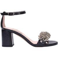 Schuhe Damen Sandalen / Sandaletten Albano - Sandalo nero 2042 Multicolore