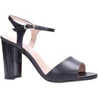Schuhe Damen Sandalen / Sandaletten L'amour - Sandalo nero 931 Multicolore
