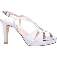 Schuhe Damen Sandalen / Sandaletten L'amour - Sandalo argento 913 Multicolore