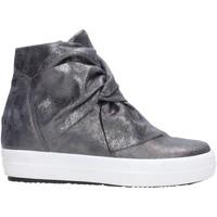 Schuhe Damen Boots Igi&co - Tronchetto antracite 2156722 Multicolore