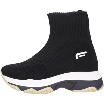 Schuhe Damen Boots Fornarina - Tronchetto black SUPER1 Multicolore