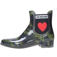 Schuhe Damen Gummistiefel Love Moschino JA21013G06 Multicolore