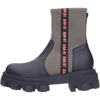 Schuhe Damen Boots Jeannot - Tronchetto black/milit 75311 Multicolore