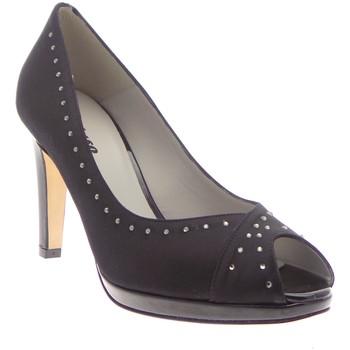 Schuhe Damen Sandalen / Sandaletten Melluso - Decollete nero raso t70 E1476R Multicolore
