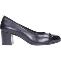 Schuhe Damen Pumps Melluso - Decollete black vernice X5310 Multicolore