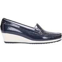 Schuhe Damen Slipper Enval - Mocassino blu 7933200 Multicolore