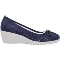 Schuhe Damen Ballerinas Enval - Ballerina blu 7938000 Multicolore
