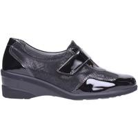 Schuhe Damen Slipper Melluso - Mocassino black K91237 Multicolore