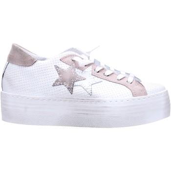 Schuhe Damen Sneaker Low 2 Stars 2050 Multicolore