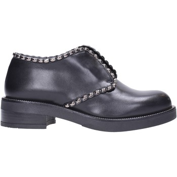Schuhe Damen Derby-Schuhe Albano - Slip on black vitello 1013/2 Multicolore