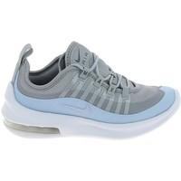 Schuhe Kinder Sneaker Low Nike Air Max Axis C Gris Bleu Grau