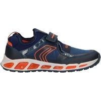 Schuhe Jungen Multisportschuhe Geox J8494A 011FE J SHUTTLE Azul