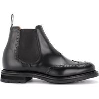 Schuhe Herren Boots Church's Beatle-Boots  Coldbury in schwarzem, gebürstetem Kalbsleder Schwarz