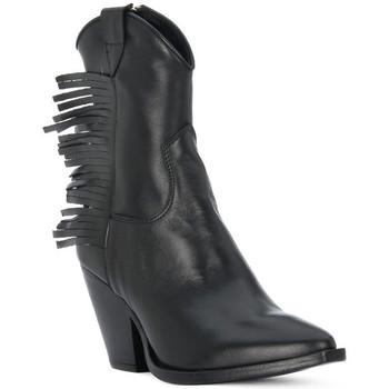 Schuhe Damen Low Boots Priv Lab VITELLO NERO Nero