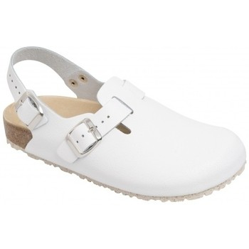 Schuhe Pantoletten / Clogs Weeger Küchenclog Art. 48612-10 Spezialsohle weiß