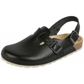Schuhe Pantoletten / Clogs Weeger Küchenclog Art. 48612-20 Spezialsohle schwarz