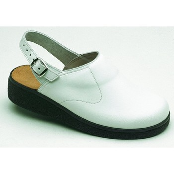 Schuhe Herren Pantoletten / Clogs Weeger Küchenclog Art. 48622-10 weiß