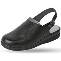 Schuhe Herren Pantoletten / Clogs Weeger Küchenclog Art. 48622-20 schwarz