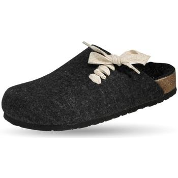Schuhe Pantoffel Weeger Filzclogs Art. 41547-23 anthrazit