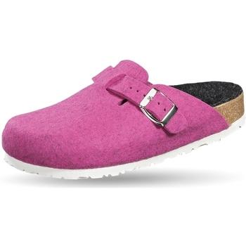 Schuhe Pantoffel Weeger Filzclogs Art. 41517-65 fuchsia