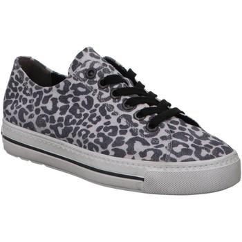 Schuhe Damen Sneaker Low Paul Green 4704 4704-145 grau