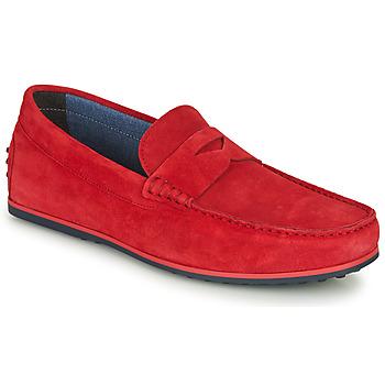Schuhe Herren Slipper André SKY Rot