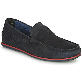 Schuhe Herren Slipper André SKY Marine