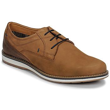 Schuhe Herren Derby-Schuhe André LINOS Cognac