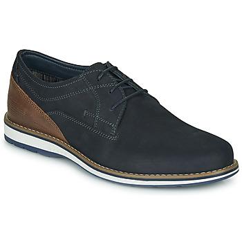 Schuhe Herren Derby-Schuhe André LINOS Marine