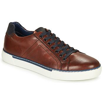 Schuhe Herren Sneaker Low André SHANN Braun
