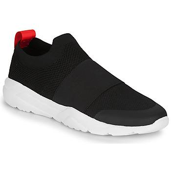 Schuhe Herren Sneaker Low André ALVEOLE Schwarz