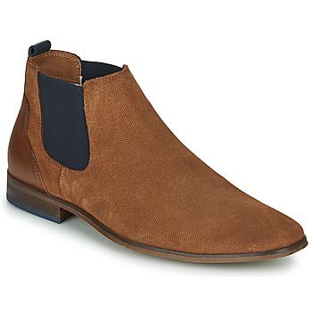 Schuhe Herren Derby-Schuhe André WALOU Cognac