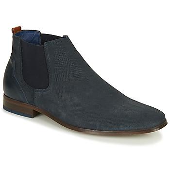 Schuhe Herren Derby-Schuhe André WALOU Marine