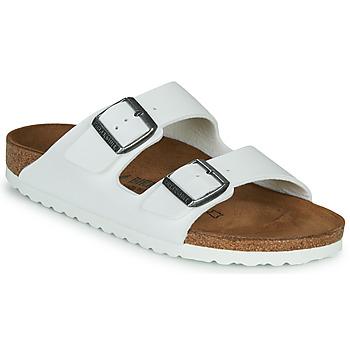 Schuhe Damen Pantoffel Birkenstock ARIZONA Weiss